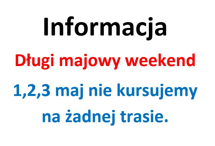 Długi weekend majowy 2021